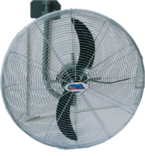 wall industrial fan